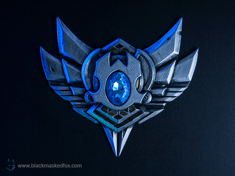 league of legends silver badge handmade. Black Bedroom Furniture Sets. Home Design Ideas